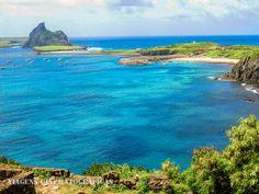 Ilha de Fernando de Noronha - Brasil  Paisagem de Fernando de Noronha vista a partir do Forte dos Remédios