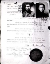"""A """"Paper Son"""" was a term coined for young Chinese males attempting to enter the United States on identity papers that were bought for them.  The identity papers were established by American citizens of Chinese descent who left the US to travel back to China.  Upon returning, they would claim a marriage and the birth of several sons.  Years later, these young Chinese males would appear claiming to be the sons of these citizens.  In fact, a substantial number of these boys were sons """"on paper…"""