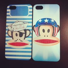 Iphone5 Cover Paul Frank style! Photo by @lacoquetteries