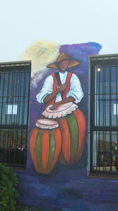 Candombe. Colonia-Uruguay