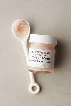 French Girl Organics Rose Lip Polish - NOT tested on animals