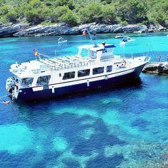 Visita #Menorca en #barco llega a rincones ocultos #menorca en #otoño