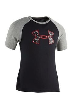 Christmas 2016 gift for our handsome grandson. Under Armour® Micro Camo Raglan Tee Size 5