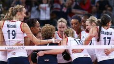 Women's Volleyball - Olympic Volleyball   London 2012