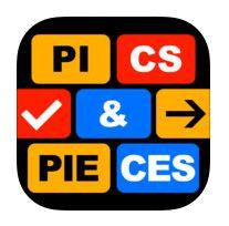 Pics & Pieces Answers / Solutions / Cheats App Icon, Cheating, Ipad, Icons, Icon Set, Symbols