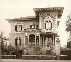 Avenida Paulista: Residência de João Baptista Scurachio – 1920, arquiteto desconhecido.