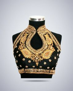 Elegant saree blouse