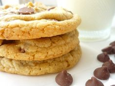 Thick and Chewy Chocolate Chip cookies. The recipe I want to try next, it uses melted butter (instead of softened).