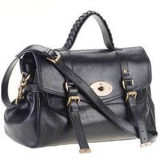 e169900cbf2 Mulberry Alexa Black Satchel #womensbags Mulberry Bag, Mulberry Shoulder Bag,  Mulberry Alexa,
