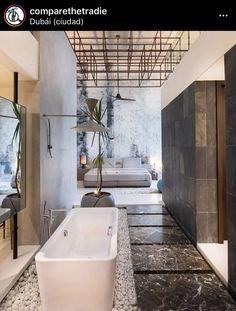 Bedroom goals - Interior Home Design Ideas 2019 Contemporary Interior Design, Best Interior Design, Modern House Design, Luxury Interior, Interior Design Inspiration, Luxury Decor, Stone Interior, Design Interiors, Bar Design