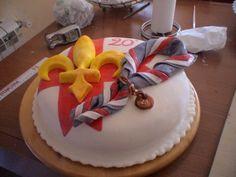 torta per il ventennale del mio gruppo scout