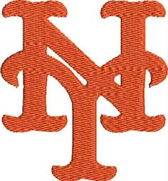 Palmetto State Embroidery: New York Mets Logo machine embroidery design for Shawn