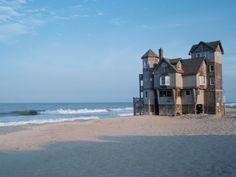 "Beautiful "" Nights in Rodanthe ""  movie house . North Carolina ."