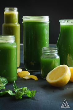 Almost the original mean green juice - Getränke und Smothie - Stylish Gift Juice Cleanse Recipes, Detox Diet Drinks, Natural Detox Drinks, Healthy Juice Recipes, Healthy Juices, Smoothie Recipes, Detox Juices, Detox Recipes, Vegan Recipes