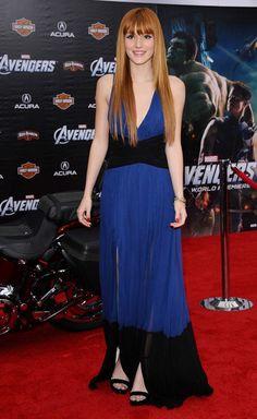 "Bella Thorne World Premiere of Marvel's ""The Avengers"" Premiere.El Capitan, Hollywood, CA.April 11, 2012."