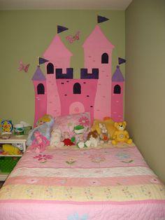 Princess Castle Headboard