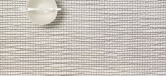Chilewich : Table : Placemats & Runners : Lattice : Silver (Rectangle)