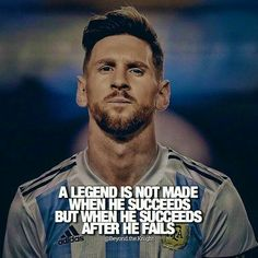 Best Lionel Messi Quotes on life, overnight success, football, sports and dreams. Manchester City, Manchester United, Lionel Messi Quotes, Cristiano Ronaldo Lionel Messi, Soccer Motivation, Fitness Motivation Quotes, Inspirational Soccer Quotes, Motivational Quotes, Famous Soccer Quotes