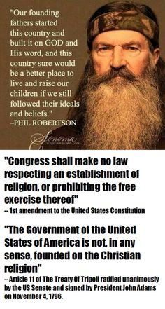 Phil Robertson. Just another bigot, liar, and fraud hiding behind the flimsy curtains of religion.
