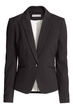 H&M Fitted jacket in Black, £24.99