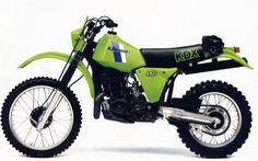 1983- Kawasaki KDX450
