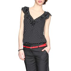 dot in black Mom Outfits, Casual Outfits, Cute Outfits, Fashion Outfits, Womens Fashion, Office Fashion, Work Fashion, Traje Casual, Look Office