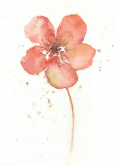Need 2  Hey, I found this really awesome Etsy listing at https://www.etsy.com/listing/113066200/flower-flower-art-print-watercolor-art