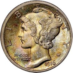 Read about the history of Mercury Dimes, including Mercury Dime.