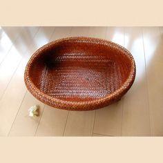 サイアミーズ パニエ バスケット 2点セット Thai Hand-made Cha-uat Baskets - Beckyson ベッキーソン http://www.beckyson.co/?pid=69100990