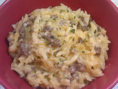 Michele's Woman Cave: Cheeseburger Pasta