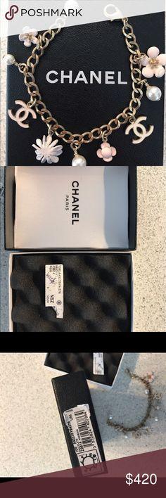 CHANEL Bracelet CHANEL Rose/Blanc Bracelet CHANEL Jewelry Bracelets