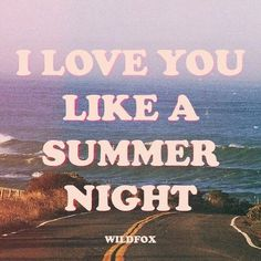 summer, love, and night imageの画像