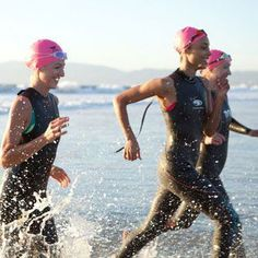 A training plan and tips to help prepare you for a sprint triathlon. You Can Be a Triathlete. From Women's Health.