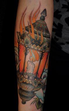 lantern tattoo   Tumblr