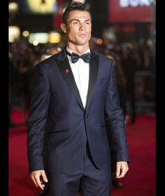 Ronaldo on the red carpet