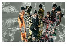 Marc Jacobs Spring/Summer 2018 ad campaign photographed by Steven Meisel                           Discover the full campaign on marcjacobs.com                       Styled by Katie Grand, set design by Stefan Beckman, casting by Anita Bitton, and featuring Sophie Martynova, Lea Julian, Remington Williams, Aube Jolicoeur, Cristina Piccone, Fran Summers, and Sveta Black