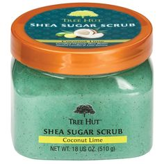 See 1345 reviews, photos, and Q&A on Tree Hut Coconut Lime Shea Sugar Body Scrub: If you're looking for a body scrub that smells amazing, scrubs without scratching your skin, doesn't leave a weird oily residue after you've washed it off & is a lower price than other brands, this is the right product for you!