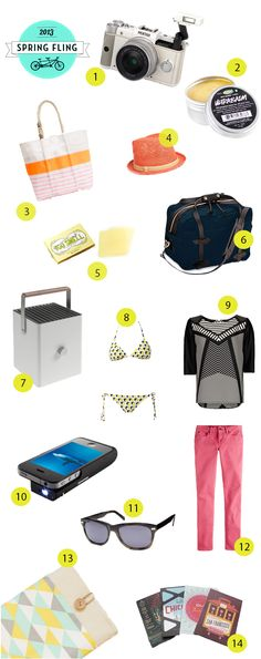 Our Spring Fling Packing List! #TCSpringFling
