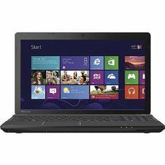"Toshiba Satellite C55-A5308 15.6"" Laptop PC - Intel Core i3 / 4GB Memory / 750GB HD / DVD±RW/CD-RW / Built-in HD Webcam & Microphone / Windo..."