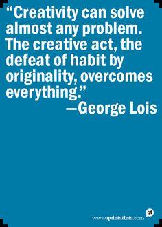 George Lois on Creativity