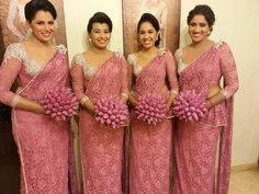 Sri Lankan Bridesmaids