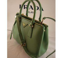 Tip: Prada Handbag (Green)
