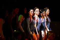 Members of the USA gymnastics team are introduced during Kellogg's Tour Of Gymnastics Champions at the Maverik Center in West Valley City on Thursday, Sept. 27, 2012. (Chris Detrick  |  The Salt Lake Tribune)
