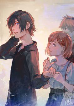"""melo-9ba: """"Ayato and Hinam """""""