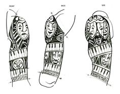 african tribal tattoo - Google Search