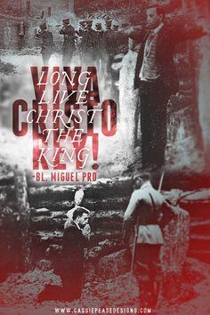 One of my new favorite saints: Bl. Miguel Pro! ¡Viva Cristo Rey!