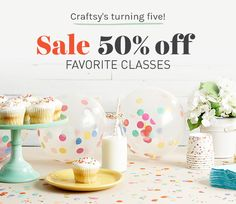 Cue the confetti — we're putting some of our most popular classes at half price!