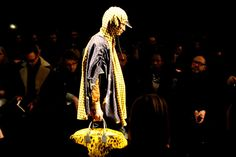 Neon revolutionaries at Vivienne Westwood Man's clamour for climate change