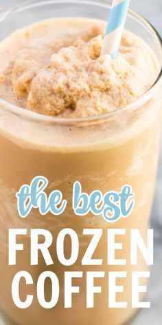 Frozen Coffee Drinks, Blended Coffee Drinks, Coffee Smoothie Recipes, Coffee Recipes, Magic Bullet Coffee Recipe, Slush Recipes, Snack Recipes, Low Fat Desserts, Fancy Desserts