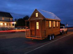 Order your tiny house to-go, from the Tumbleweed Tiny House Co! 117 sq ft. Wow.